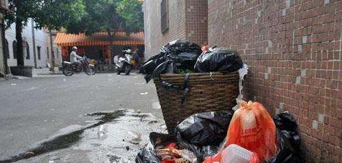 房屋出租卫生管理室外垃圾